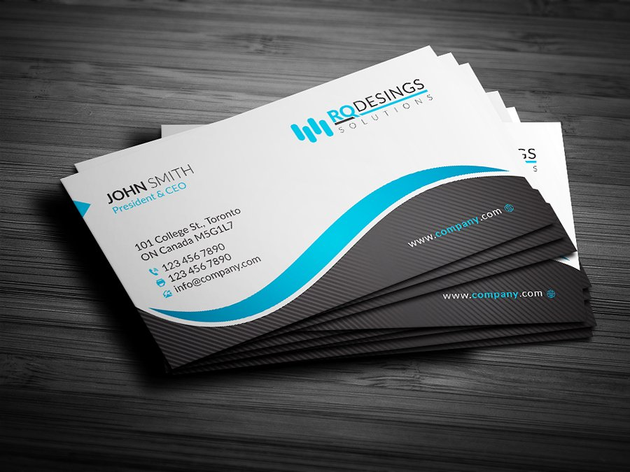 Business card y land for Business card designs templates