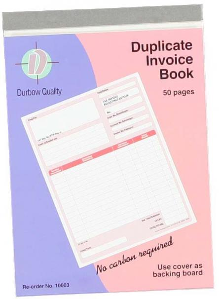 Duplicate Invoice Book YLAND - How to use an invoice book